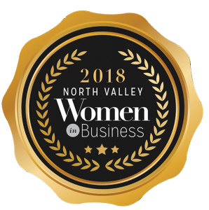 2018 North Valley Women in Business Badge